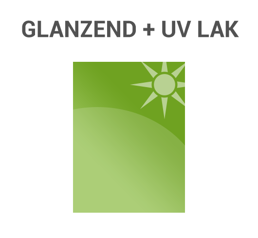 Glanzend UV lak